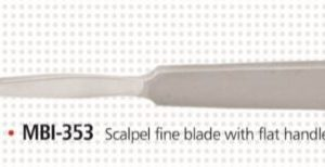 CHISEL AND SCALPELS-MBI-353
