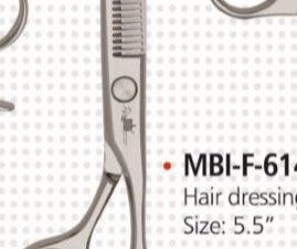 BARBER SCISSORS MBI-F614 C