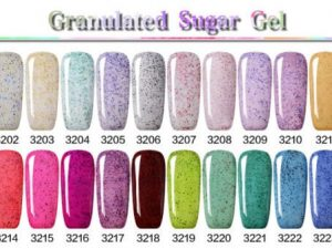 Granulated Sugar Gel