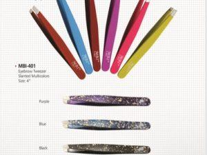 EYEBROW TWEEZERS MBI-401(Multicolor)